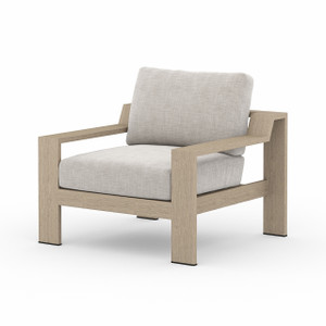 Monterey Outdoor Chair - Brown/Stone Grey