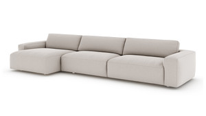 Sydney 2 PC Sectional - Carrera Cloud