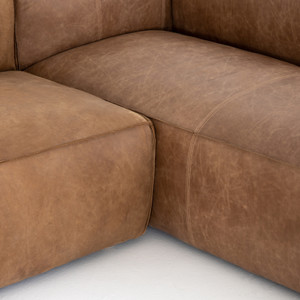 Nolita Leather Sectional