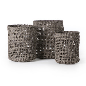 Natural Baskets (Set of 3)