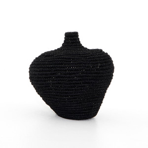 Bodhi Basket-Black Banana Leaf
