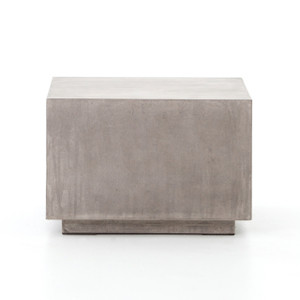 Parish Concrete Cube - Grey Concrete