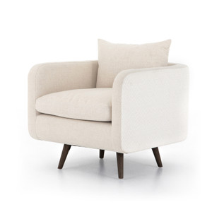 Kaya Swivel Chair-Clover Beige