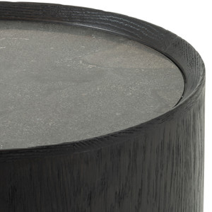Ines End Table-Bluestone