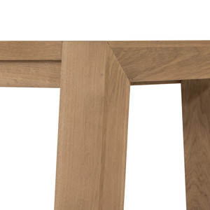 Capra Dining Bench-Light Oak Resin