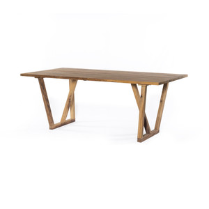 Olivia Dining Table-Natural Reclaimed Wood