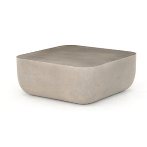 Ivan Square Concrete Outdoor Coffee Table