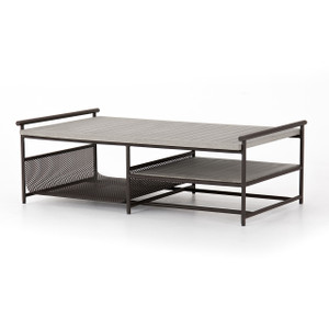 Ledgel Outdoor Coffee Table - Grey