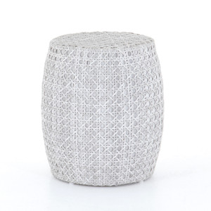 Dolten  Outdoor End Table - Brushed Grey