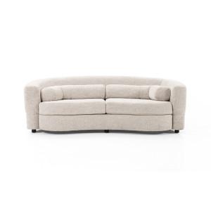 "Melissa Curved Sofa - 87"""