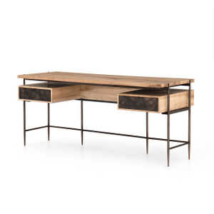 Miguel Desk - Bleached Walnut