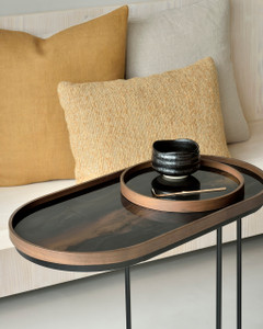 Oblong Tray Side Table - M