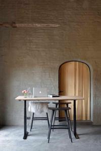 Oak Bok Adjustable Desk - Table Top