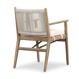 Ramsey Outdoor Dining Armchair - Natural