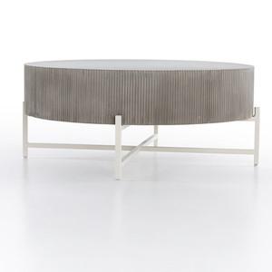 Jennis Outdoor Coffee Table - Grey Terrazzo