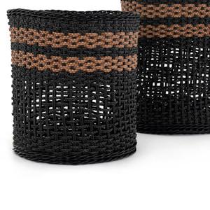 Nadine Outdoor Baskets, Set Of 2 - Natural