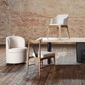 Brandie Dining Chair - Gibson Wheat