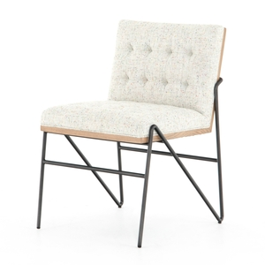 Rue Dining Chair - Mabel Neutral Fleck