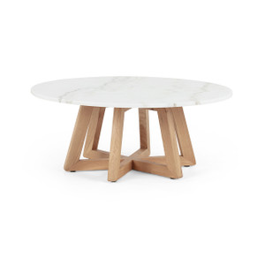 Kerry Coffee Table - White Marble