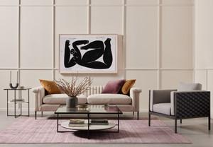 "Wellery Sofa - 93"" - Cambric Ivory"