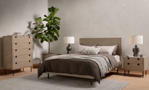 Cruz Bed - Grey Wash