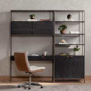 Wylde Modular Wall Bookcase Desk