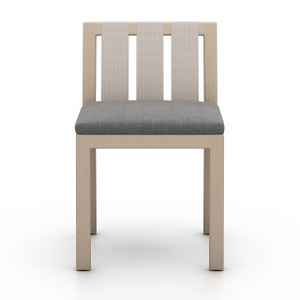 Oceanside Outdoor Dining Chair, Washed Brown