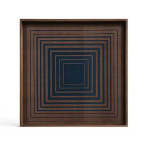 Ink Square glass tray