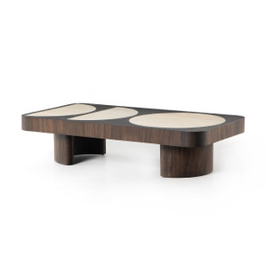 Cutter Coffee Table - Bleached Guanacaste