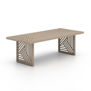 """Alvey Outdoor Dining Table-96"""""""