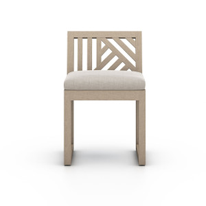 Alvey Outdoor Dining Chair | Washed Brown