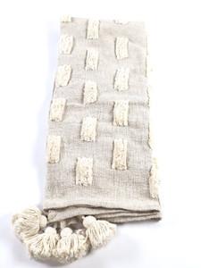 Jodi Blanket Decorative Throw Handmade Cream
