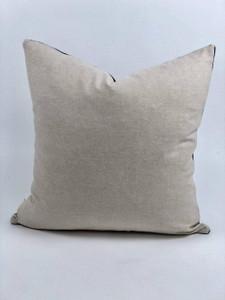 Brandy Black Cotton Pillow