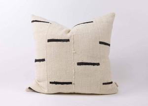 Brandy White Cotton Pillow