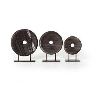 Lorenza Round Sculptures - Set Of 3