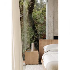 Phile Solid Oak Bed