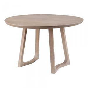 Tomar Round Dining Table Oak
