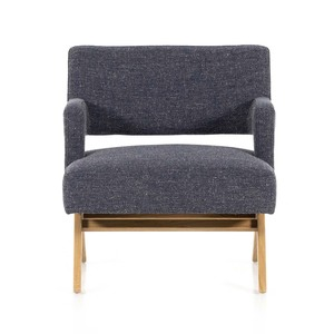 Genoa Lounge Chair - Thames Slate