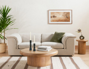 Knowle Coffee Table - Burnished Parawood
