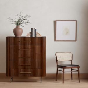 Bei Cane Dining Chair - Noir