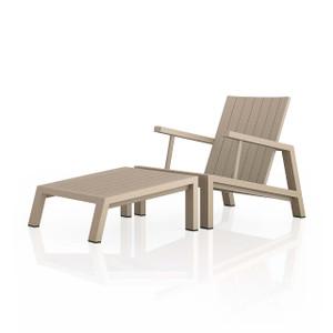 Dorsey Outdoor Chair W/ Ottoman