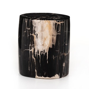 Kae End Table - Dark Petrified Wood