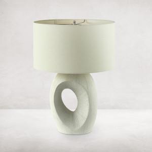 Kent Table Lamp - Textured Matte White