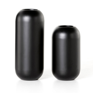 Sendle Vases - Iron Matte Black | set of 2