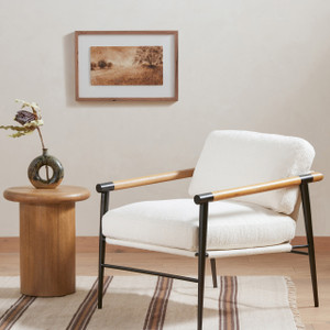 Knowle End Table - Burnished Parawood