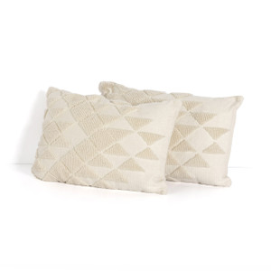 Quin Tile Outdoor Pillow - Set of 2
