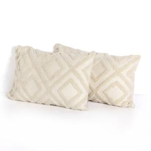 Quin Diamond Outdoor Pillow Sets