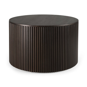 Mahogany Roller Max Round Coffee Table