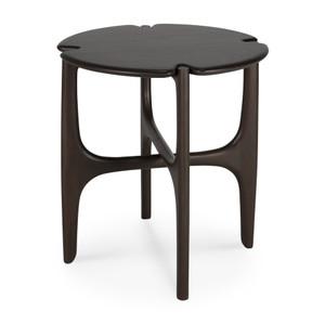 Mahogany PI Dark Brown Side Table