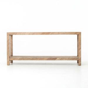 Leu Console Table - Drifted Oak Veneer